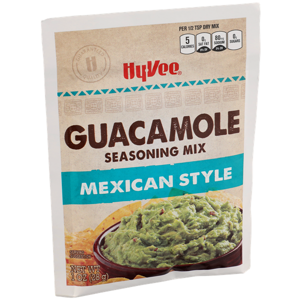 Hy-Vee Mexican Style Guacamole Seasoning Mix