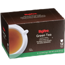 Hy-Vee Green Tea Single Serve Cups 12-0.11 oz