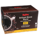 Hy-Vee Brilliant Blond Blend Single Serve Cups 12-0.42 oz