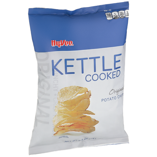 Hy-Vee Kettle Cooked Original Potato Chips