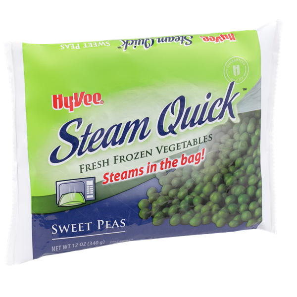 Hy-Vee Steam Quick Sweet Peas