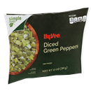 Hy-Vee Diced Green Peppers