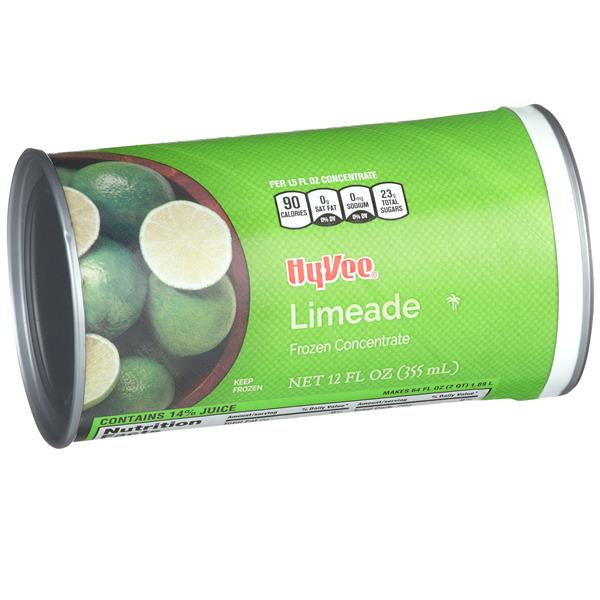 Hy-Vee Limeade Frozen Concentrate Juice Drink