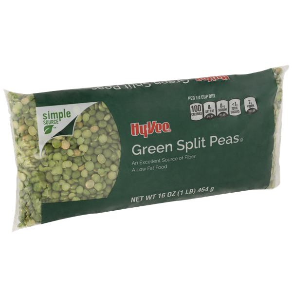 Hy-Vee All Natural Green Split Peas