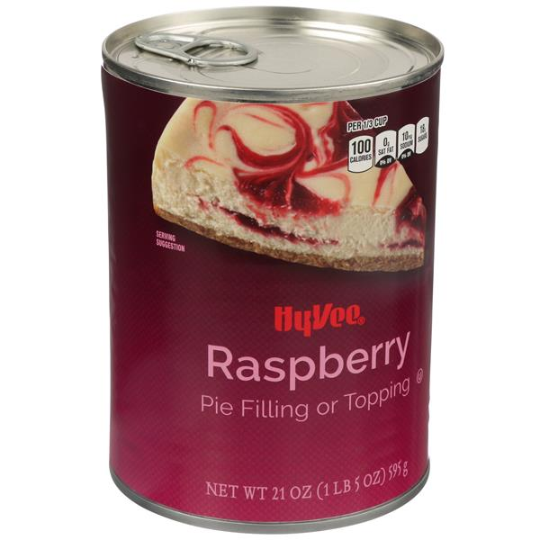 Hy-Vee Raspberry Pie Filling or Topping