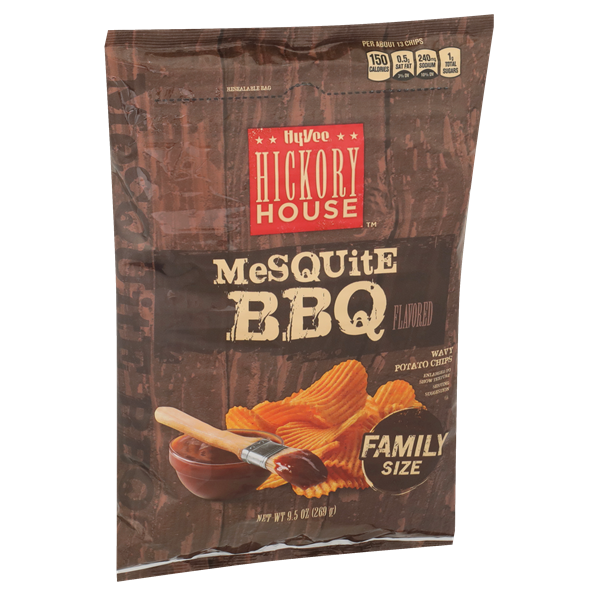 Hy-Vee Hickory House Mesquite BBQ Chips