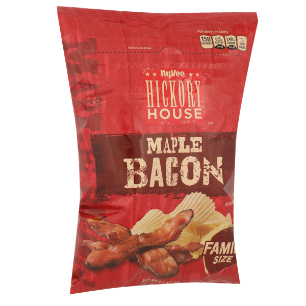 Hy-Vee Hickory House Maple Bacon Chips