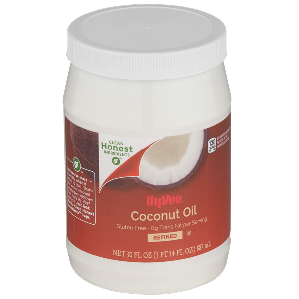 Hy-Vee Refined Coconut Oil