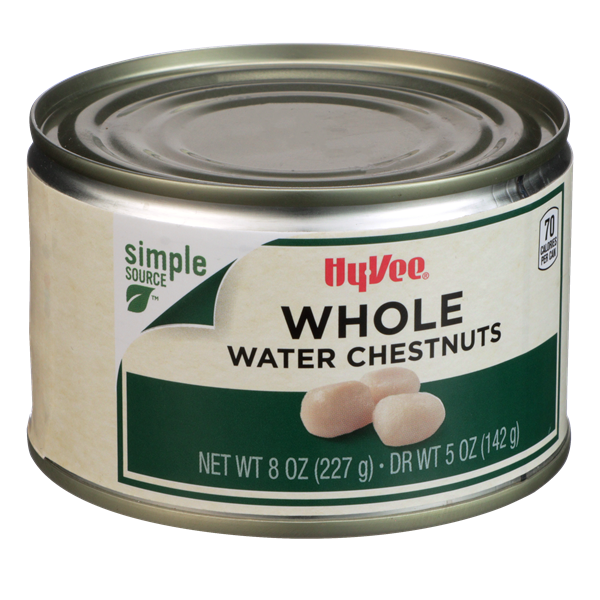 Hy-Vee Whole Water Chestnuts
