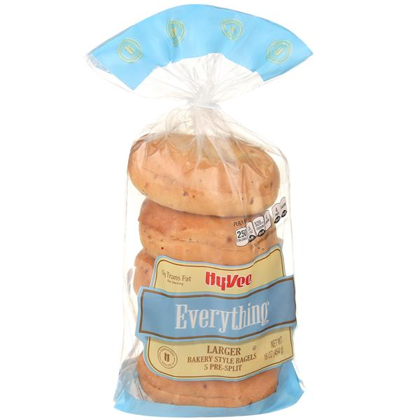 Hy-Vee Bagel Everything