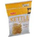 Hy-Vee Kettle Cooked Pub Mustard Flavored Potato Chips