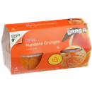 Hy-Vee Mandarin Oranges in 100% Juice 4-4 oz Bowls