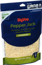 Hy-Vee Pepper Jack Monterey Jack Shredded Cheese With Jalapeno Peppers