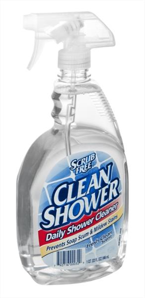 Clean Shower Daily Shower Cleaner Fresh Clean Scent | Hy Vee ...