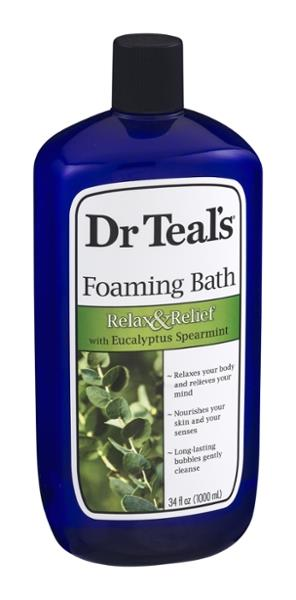 Dr. Teal's Eucalyptus Spearmint Foaming Bath