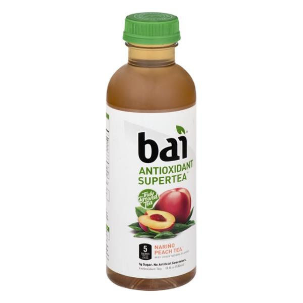 Bai Antioxidant Supertea Narino Peach Tea