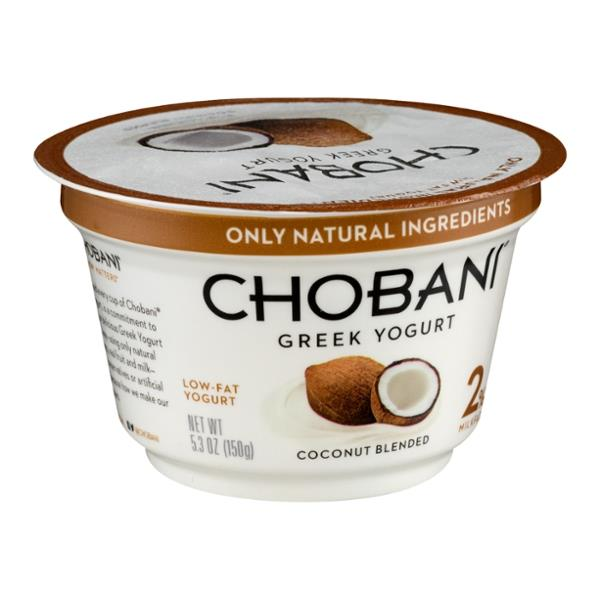 Chobani Greek Yogurt Coconut Blended Hy Vee Aisles