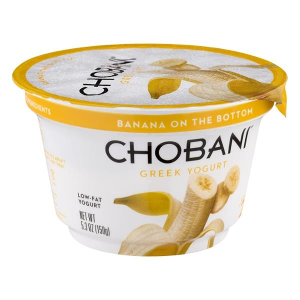 Chobani Banana on the Bottom Low-Fat Greek Yogurt
