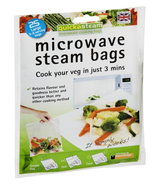 Quickasteam Microwave Steam Bags Hy Vee Aisles Online