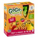 GoGo Squeez Fruit & Veggiez Peach Pouches 4 Count