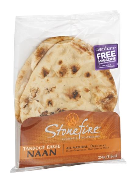 Stonefire Authentic Flatbreads Original Naan Bread