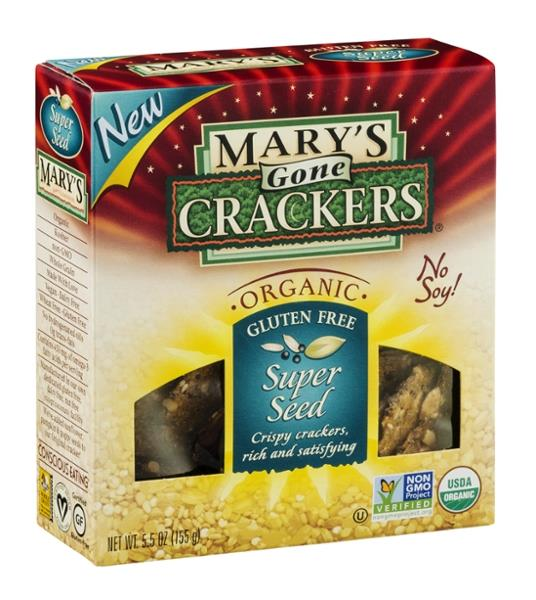 Mary's Gone Organic Super Seed Crackers Classic