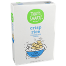 That's Smart Crisp Rice Toasted Rice Cereal