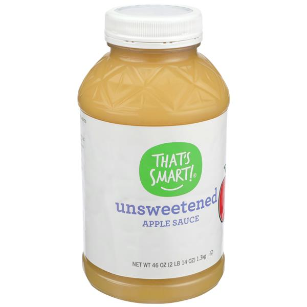 That's Smart Unsweetened Applesauce