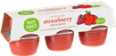 That's Smart! Strawberry Apple Sauce 6-4 oz Containers