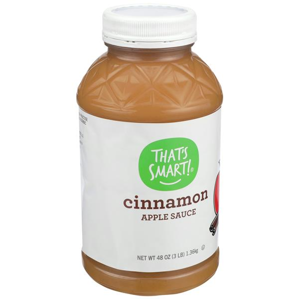That's Smart Cinnamon Apple Sauce