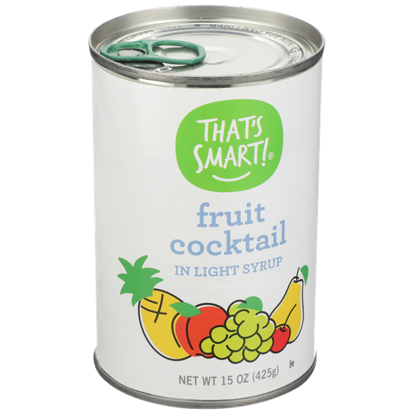 That's Smart! Fruit Cocktail In Light Syrup